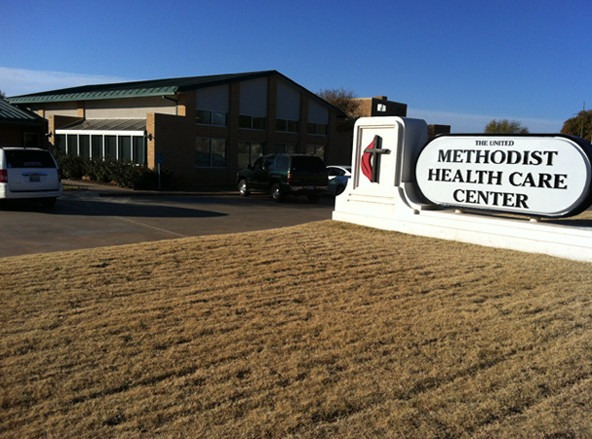 United Methodist Health Care Center, Clinton.